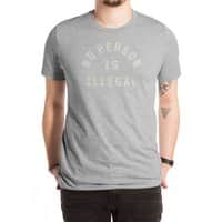 No Person Is Illegal - mens-extra-soft-tee - small view
