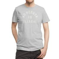 No Person Is Illegal - mens-regular-tee - small view