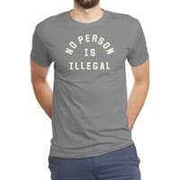 No Person Is Illegal - mens-triblend-tee - small view