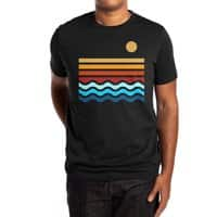 Beach Stack (Black Variant) - mens-extra-soft-tee - small view