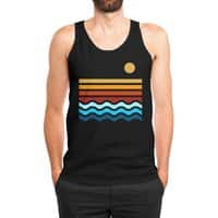 Beach Stack (Black Variant) - mens-jersey-tank - small view