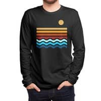 Beach Stack (Black Variant) - mens-long-sleeve-tee - small view