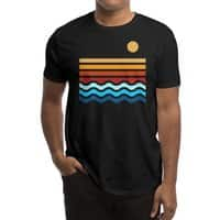 Beach Stack (Black Variant) - mens-regular-tee - small view