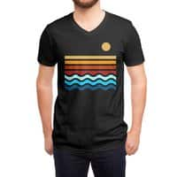 Beach Stack (Black Variant) - vneck - small view