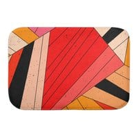 Geometric composition - bath-mat - small view