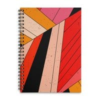 Geometric composition - spiral-notebook - small view