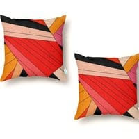 Geometric composition - throw-pillow - small view