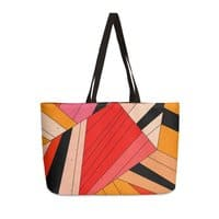 Geometric composition - weekender-tote - small view