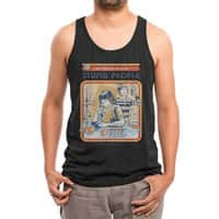 A Cure for Stupid People (Black Variant) - mens-triblend-tank - small view