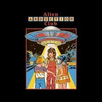 Alien Abduction Club (Black Variant) - small view