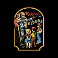 Respect Your Elders (Black Variant) - small view
