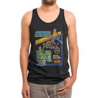 Stunts for Beginners (Black Variant) - mens-triblend-tank - small view