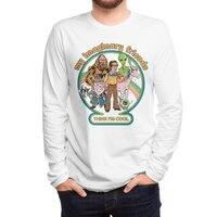 My Imaginary Friends (White Variant) - mens-long-sleeve-tee - small view