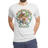 My Imaginary Friends (White Variant) - mens-triblend-tee - small view