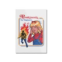 Pyrokinesis for Beginners (White Variant) - vertical-mounted-acrylic-print - small view