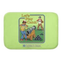Let's Play Catch - bath-mat - small view