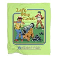 Let's Play Catch - blanket - small view
