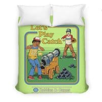 Let's Play Catch - duvet-cover - small view
