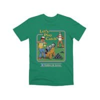 Let's Play Catch - mens-premium-tee - small view