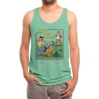 Let's Play Catch - mens-triblend-tank - small view