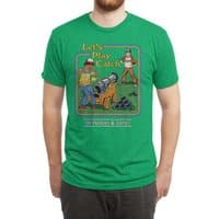 Let's Play Catch - mens-triblend-tee - small view
