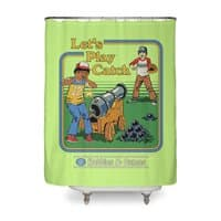 Let's Play Catch - shower-curtain - small view