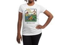 Let's Play Catch (White Variant) - womens-regular-tee - small view