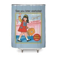 See You Later - shower-curtain - small view
