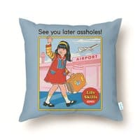 See You Later - throw-pillow - small view