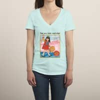 See You Later - womens-deep-v-neck - small view
