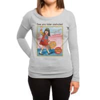 See You Later - womens-long-sleeve-terry-scoop - small view
