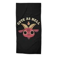 Cute As Hell - beach-towel - small view