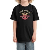 Cute As Hell - kids-tee - small view