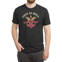 Cute As Hell - mens-triblend-tee - small view