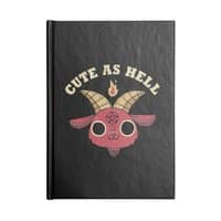 Cute As Hell - notebook - small view
