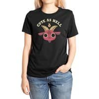 Cute As Hell - womens-extra-soft-tee - small view