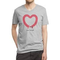 Love Yourself - vneck - small view