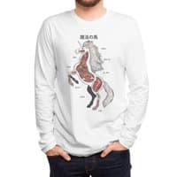 Unicorn Anatomy - mens-long-sleeve-tee - small view
