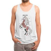 Unicorn Anatomy - mens-triblend-tank - small view