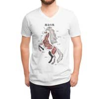 Unicorn Anatomy - vneck - small view