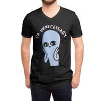 Strange Planet: So Unnecessary - vneck - small view
