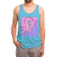 Strange Planet: Moderately Unsafe - mens-triblend-tank - small view