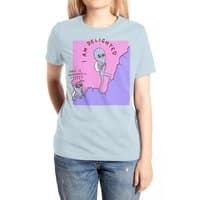 Strange Planet: Moderately Unsafe - womens-extra-soft-tee - small view