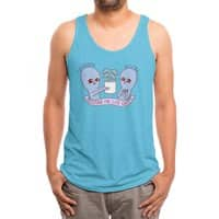 Strange Planet: Sustain the Life Force - mens-triblend-tank - small view