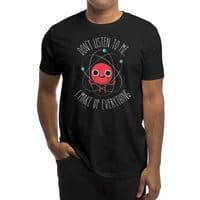 Never Trust An Atom - mens-regular-tee - small view