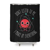 Never Trust An Atom - shower-curtain - small view