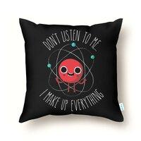 Never Trust An Atom - throw-pillow - small view