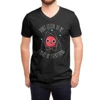 Never Trust An Atom - vneck - small view