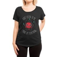 Never Trust An Atom - womens-dolman - small view