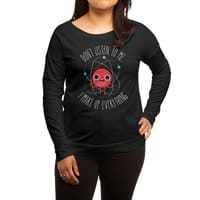 Never Trust An Atom - womens-long-sleeve-terry-scoop - small view
